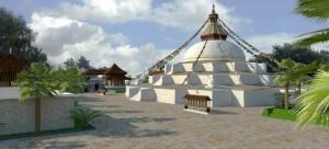 Padmasambhava_ Stupa