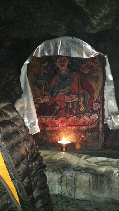 Inside Khado Sangphug Holly Cave